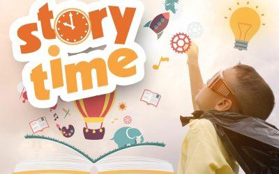 Story Time Tuesdays Begin September 21